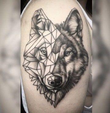 Fascinantes Diseños De Tatuajes De Animales Geometricos Tats