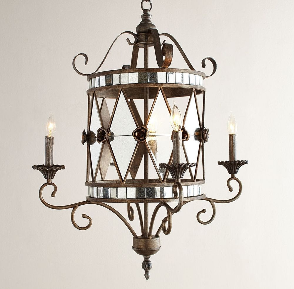 New neiman marcus horchow black iron chandelier french country chandeliers arubaitofo Image collections