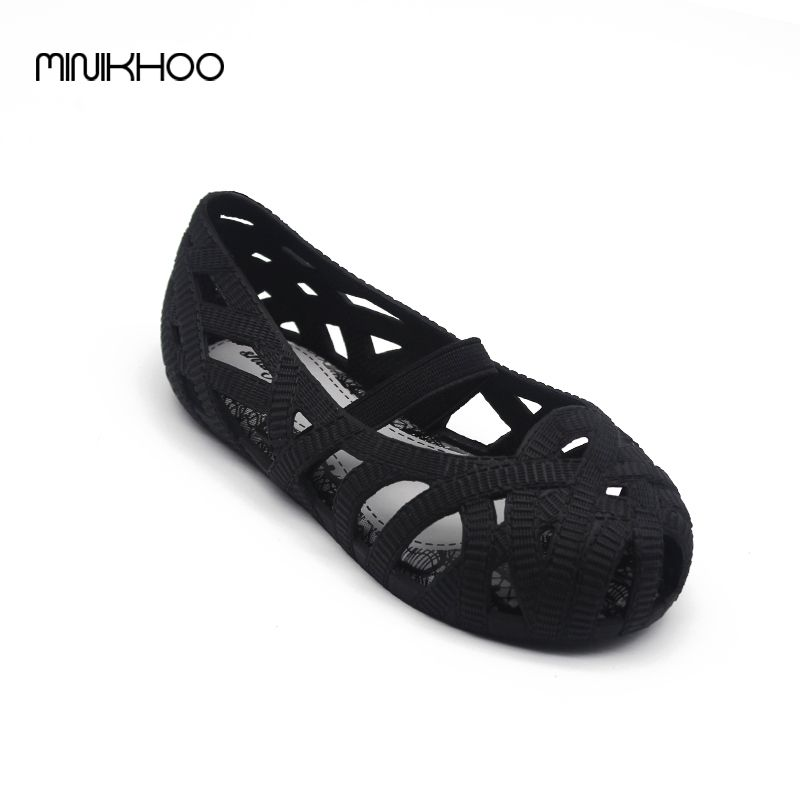 13a523e4dfcf Awesome Mini Melissa Sandals 2017 Jelly Shoes Mini Waterproof Sandals Girls  Roman Sandals Breathable Melissa Beach Shoes Princess Shoes -   - Buy it  Now!