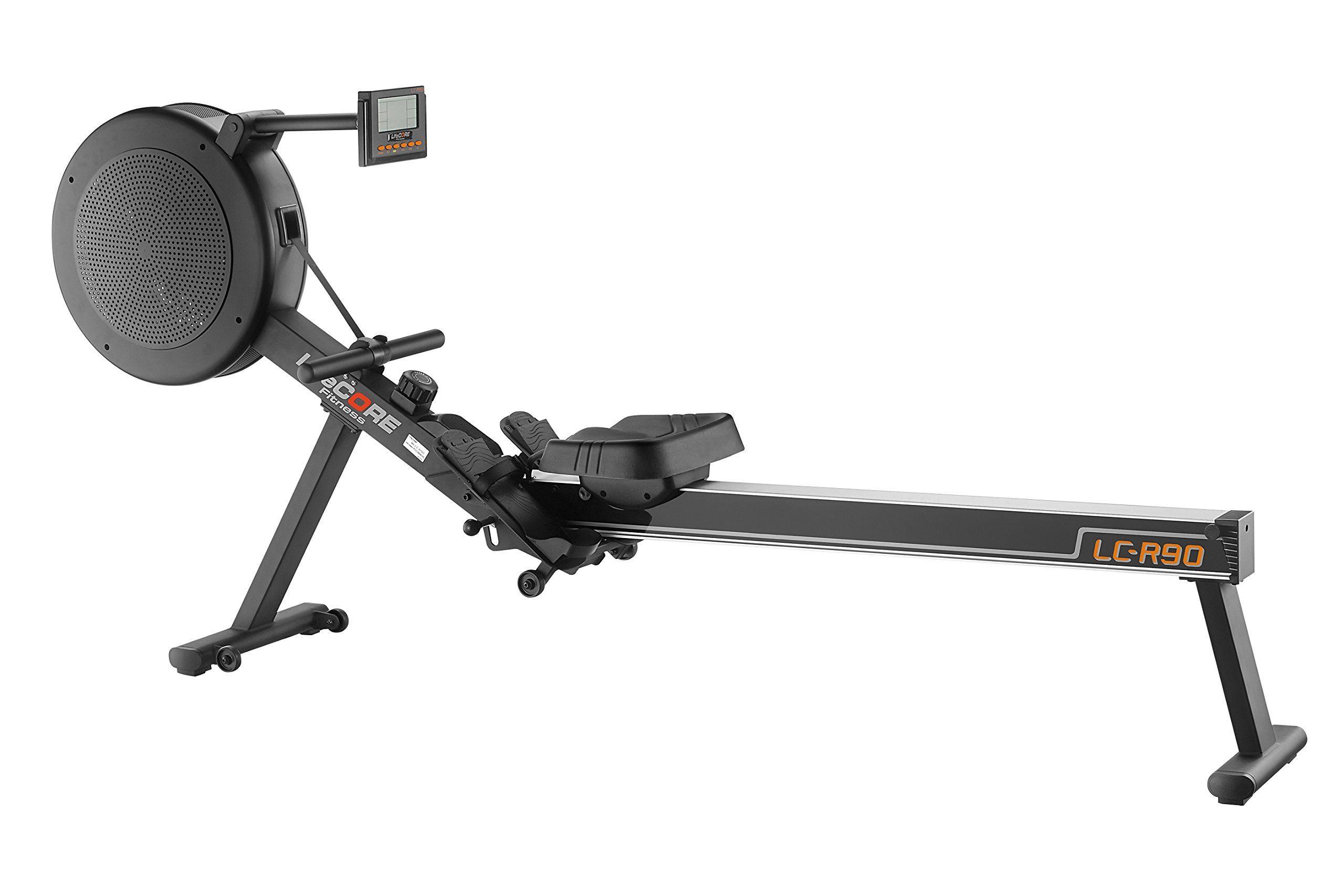 LifeCORE Fitness R90 Rowing Machine Black Frame ** Visit