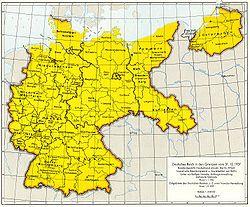 Deutschland In Den Grenzen Von 1937 Germany Map German History