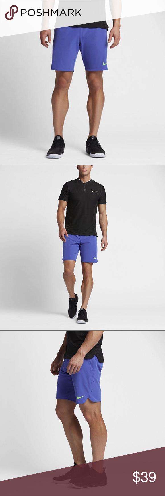 "Nike Flex Gladiator 9/"" Men/'s Tennis Shorts NWT"