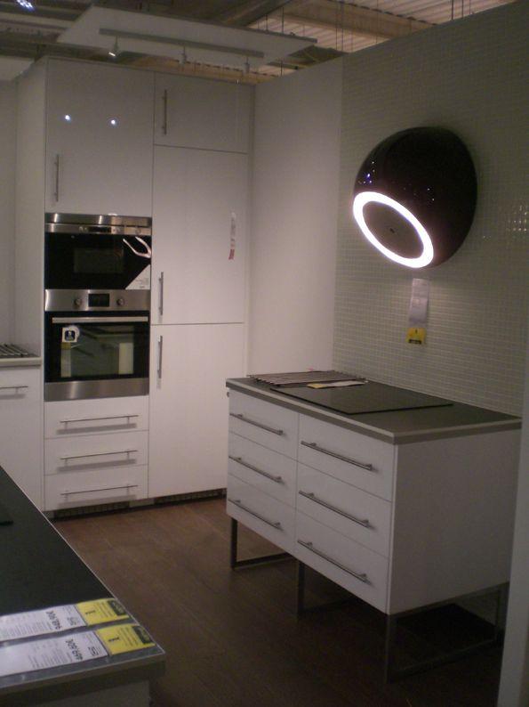 Veddinge, sur pieds inox Limhamn, hauteur 28 cm idée cuisine - Hauteur Plan De Travail Cuisine Ikea