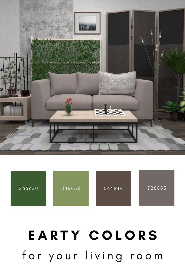 Earthy Colors For Your Living In 2020 Interior Architec