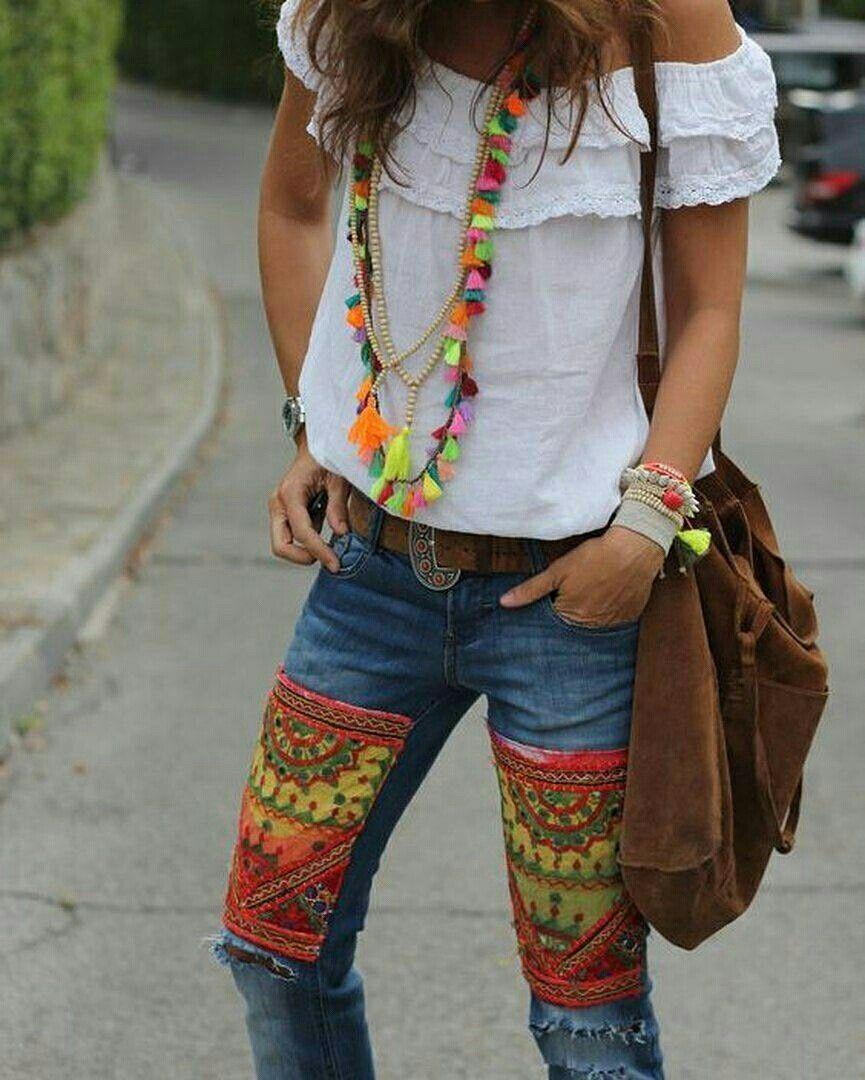 7a6669a04 Gosto Disto!   Vestido crochê verde   Fashion, Boho outfits, Hippie look