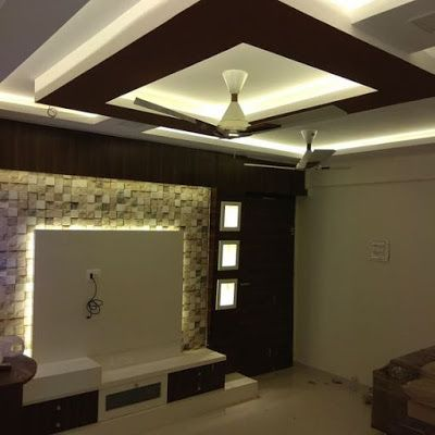 Latest Modern Pop False Ceiling Design For Living Room Hall