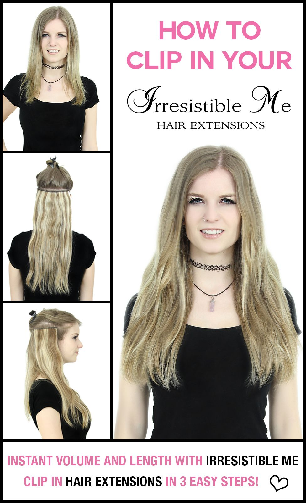 Add Instant Length And Volume To Your Hair With Irresistible Me Clip