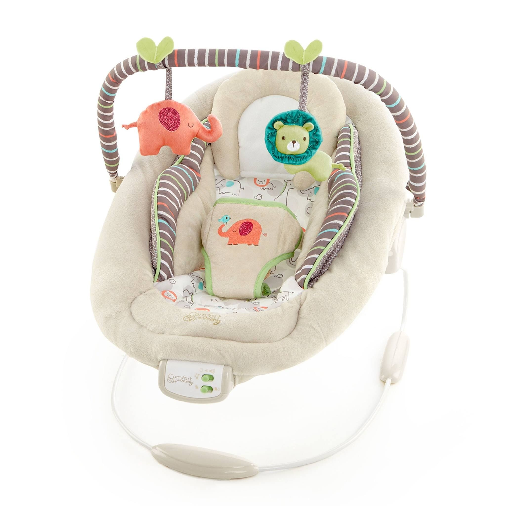Jungle Theme Cradling Bouncer Available At Walmart Canada