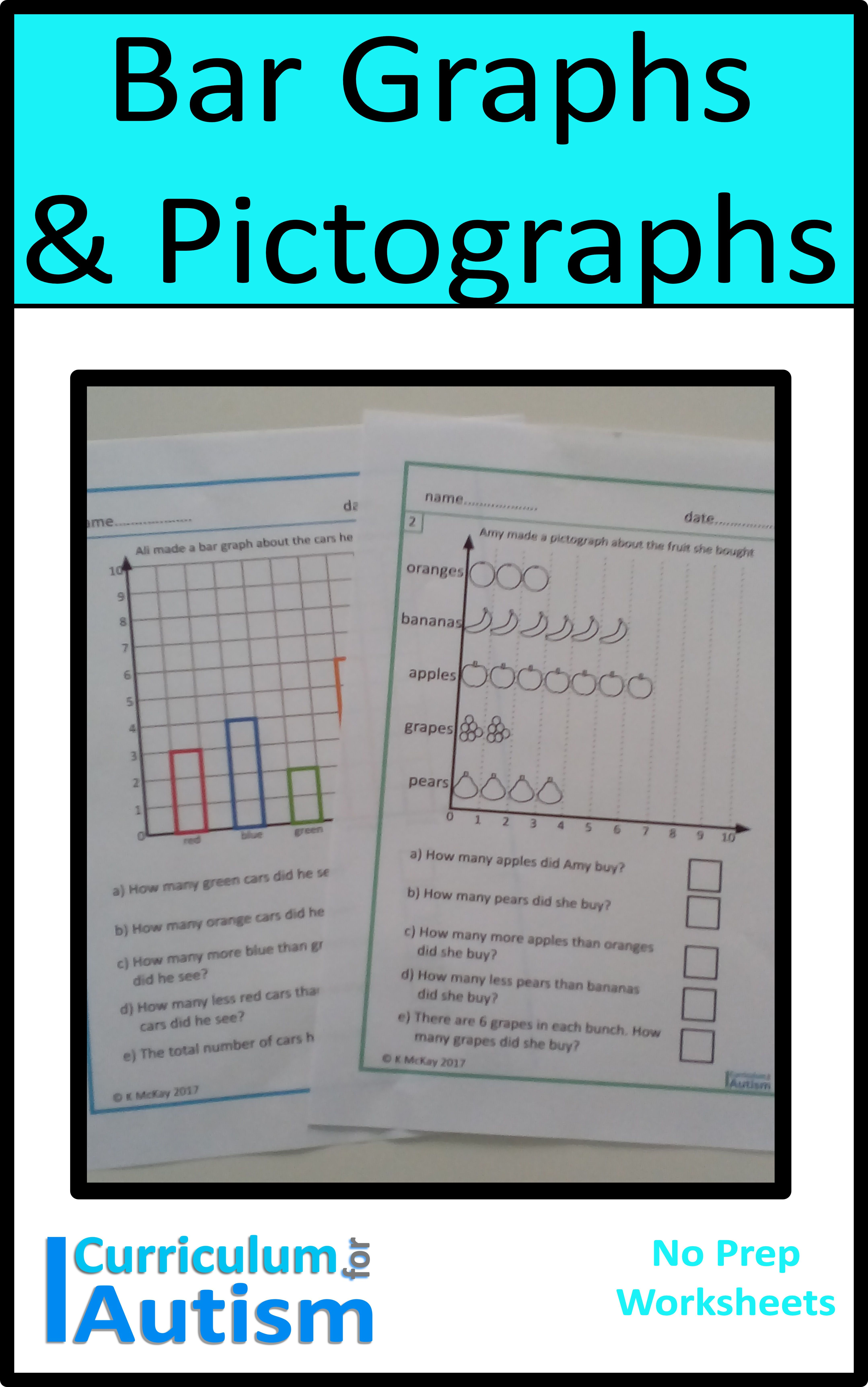 Bar Graph Amp Pictographs Worksheets