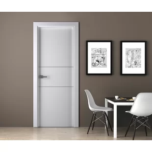Belldinni Flush Solid Manufactured Wood Palladio Standard Door Wayfair Doors Interior Modern Doors Interior Prehung Doors