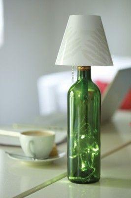 More Recycled Bottle Light Reciclando Tus Botellas De Vino