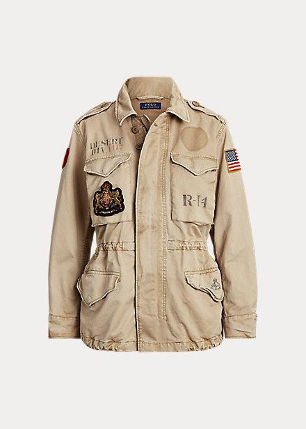 Cotton Twill Surplus Jacket in 2020 Polo shirt dress