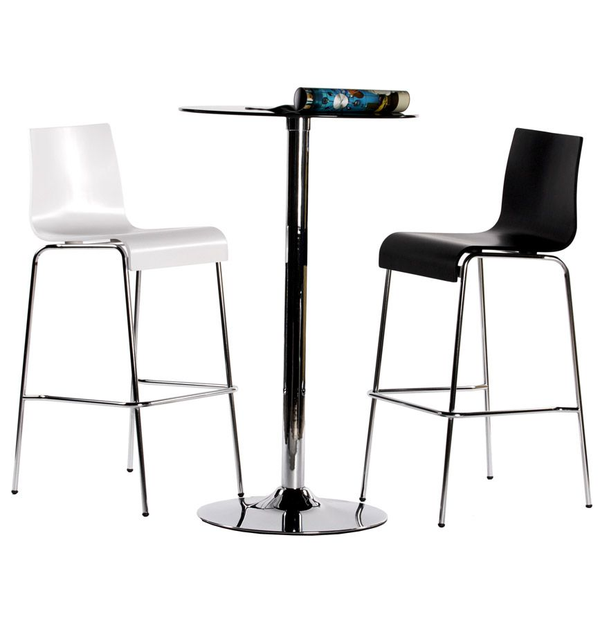 tabouret kwatro ce tabouret de bar poss de une assise. Black Bedroom Furniture Sets. Home Design Ideas
