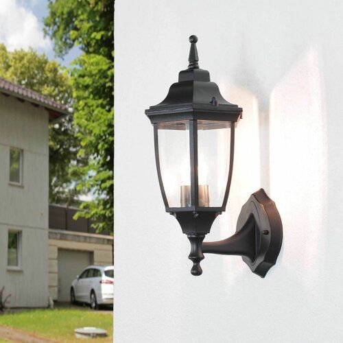 Lopes 1 Light Outdoor Wall Sconce Brambly Cottage Frame Colour