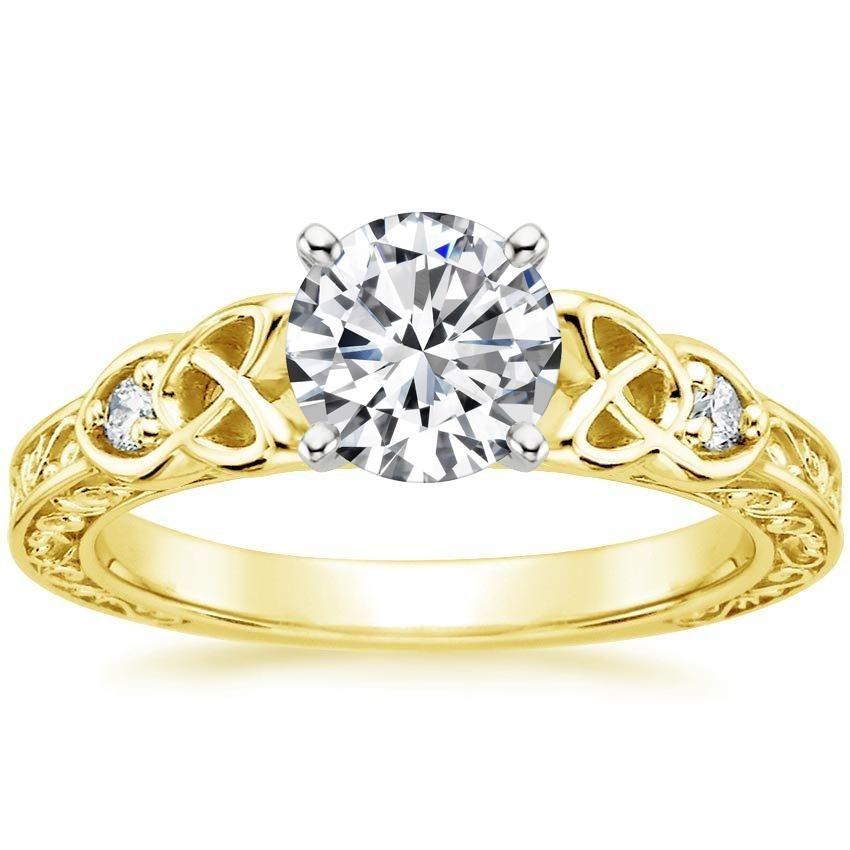 18k white gold aberdeen diamond ring irish engagement