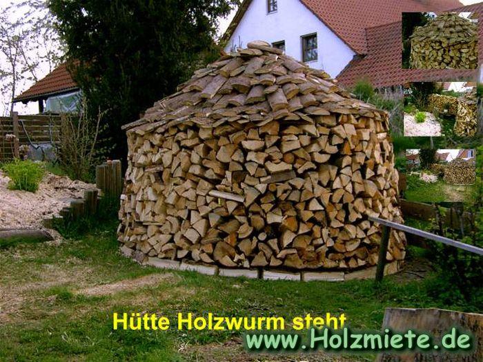 Firewood Storage Holz Hausen Technique Farm Pinterest
