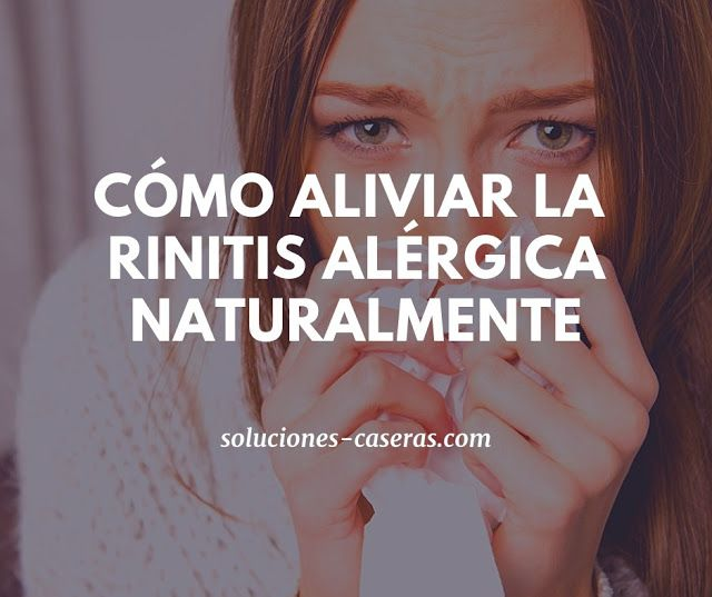 alimentos para combatir la rinitis alérgica