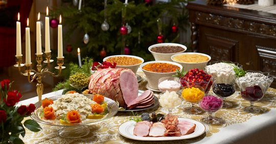 Joulupoyta Christmas Table Consists Of Many Dishes Almost Entirely Reserved For Christma Traditional Christmas Dinner Healthy Homemade Recipes Christmas Food