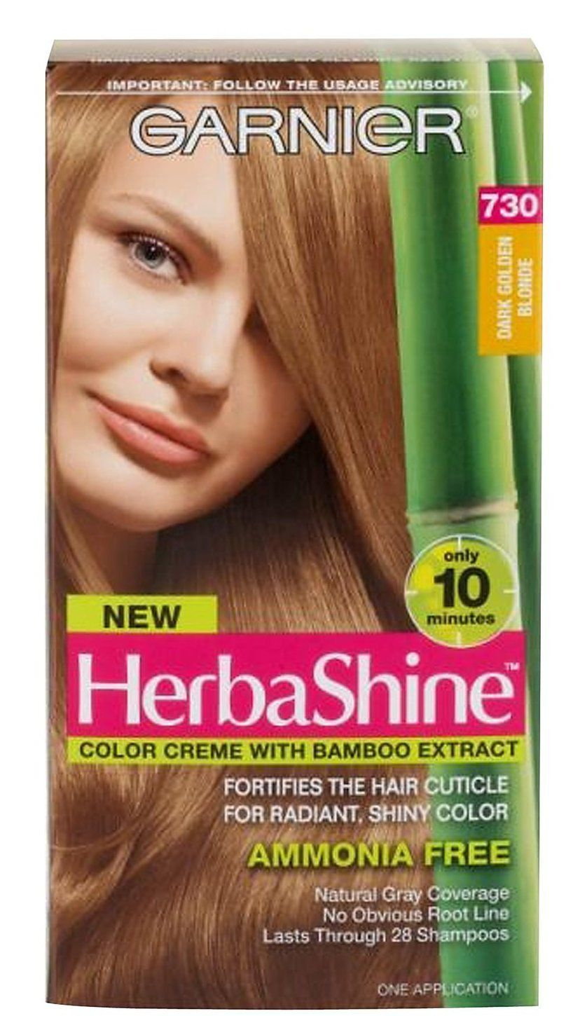 Garnier Herba Shine Hair Color Creme With Bamboo Extracts 730 Dark