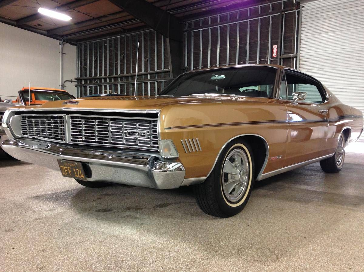 1968 Ford Galaxie Xl Fastback Gt Q Code For Sale 1804559