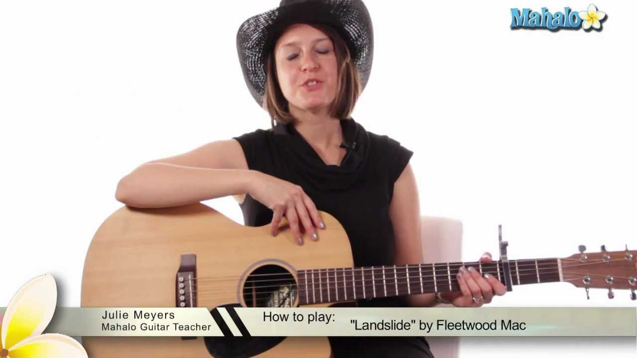 How To Play Landslide By Fleetwood Mac On Guitar Playlist