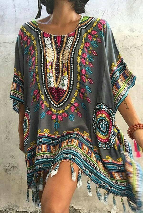 a23d1f703c0 Boho ~ Colorful Elegant Dresses