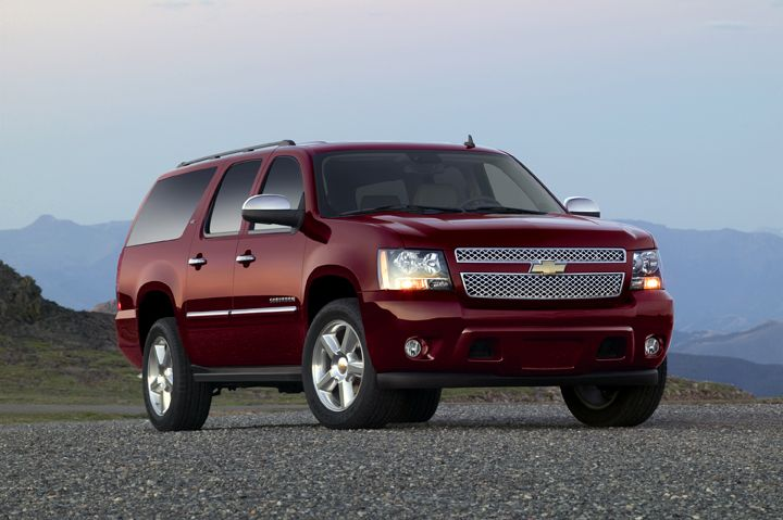 Deadliest Vehicles For Drivers Chevrolet Suburban Chevrolet