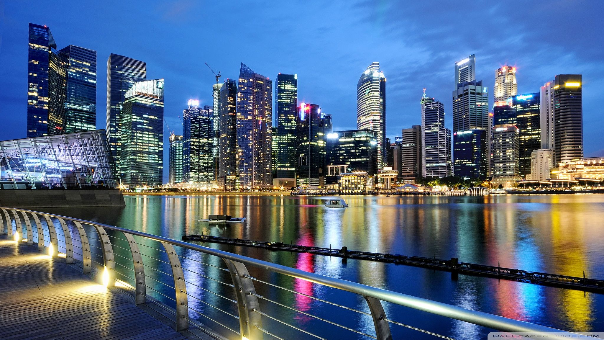 Singapore -- 'By WallpapersWide.com' | Singapur