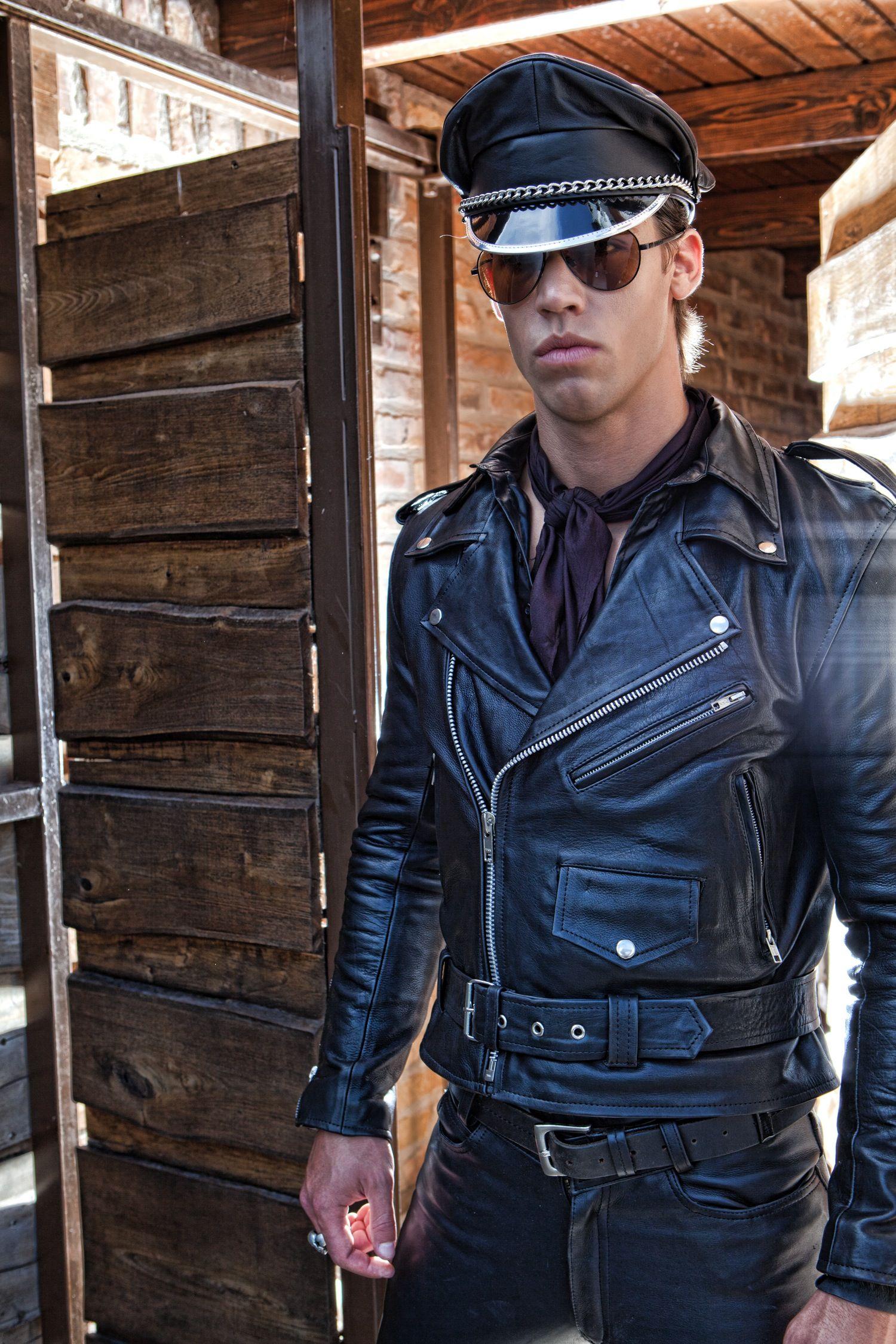 Leather jacket killer b&q - Kris Evans