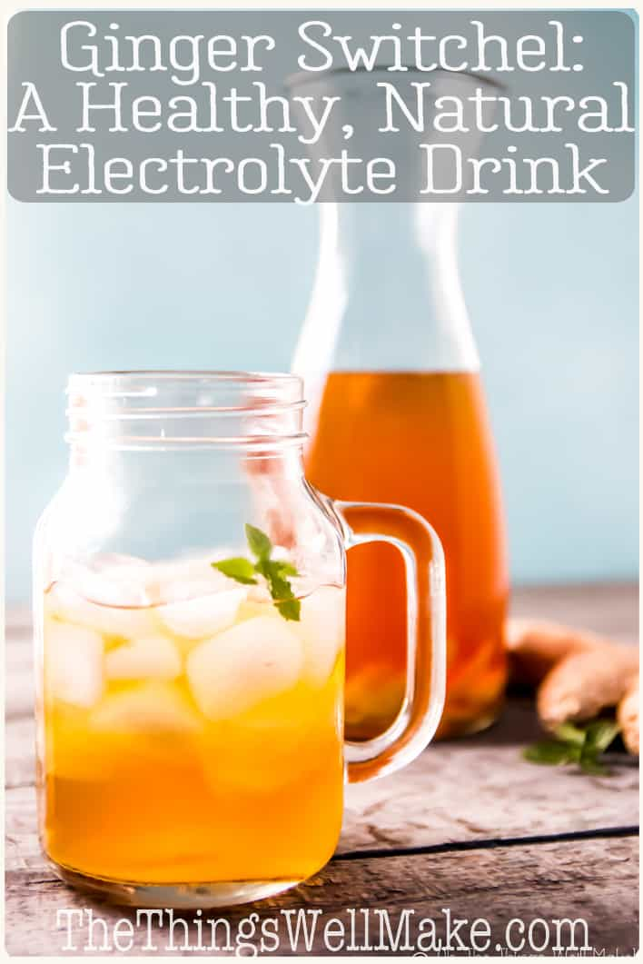 Ginger Switchel A Natural Electrolyte Drink Recipe In 2020 Natural Electrolytes Switchel Recipe Switchel