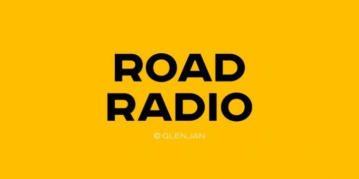 Road Radio font download