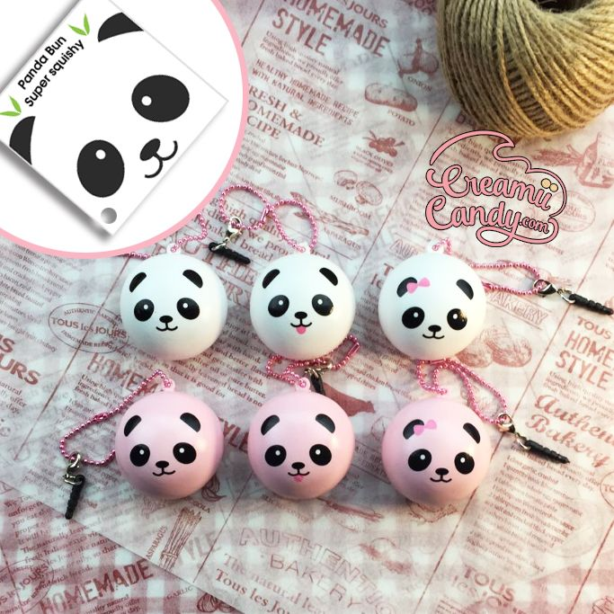 Squishy Bun Diy : rare panda bun licensed panda bun mini squishy supplier australia shop kawaii squishys ...