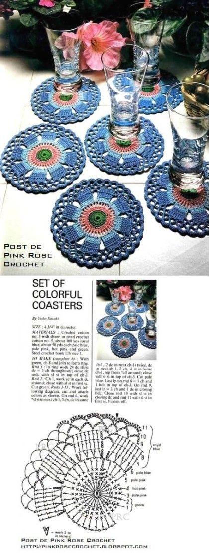 Pin de stefanie boye en crochet casa   Pinterest   Ganchillo ...