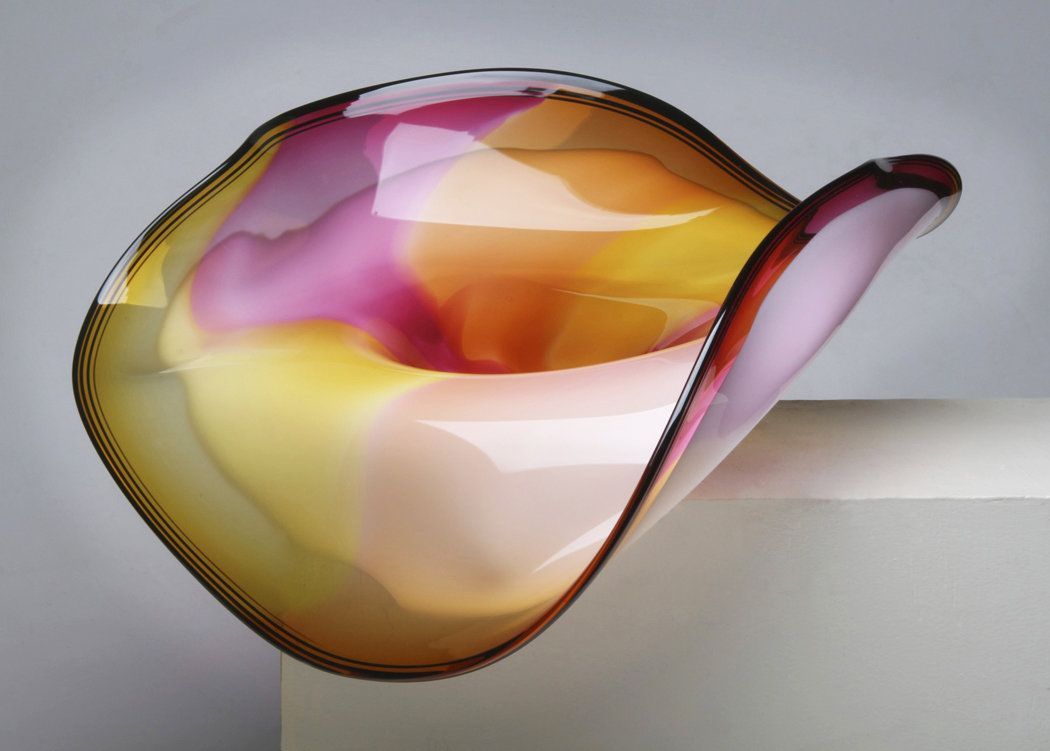 Sunrise Sculptural Bowl By Janet Nicholson And Rick