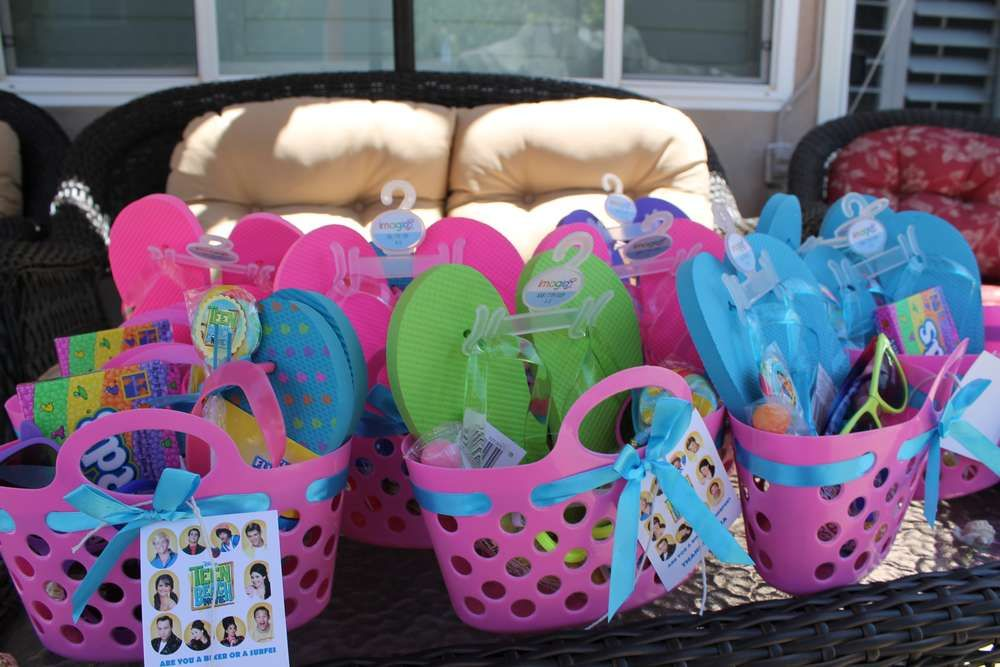 Pool Party Gift Bag Ideas 8 pool party favors kids will love fun pool birthday party favor ideas for children Pool Birthday Party Ideas Birthday Gift Bagsteen
