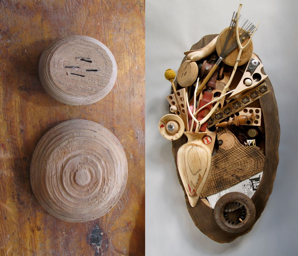 found object collage - Google Search