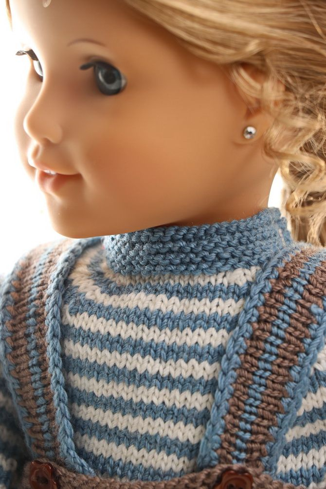 Dolls clothes knitting pattern   Knitted dolls, Doll ...