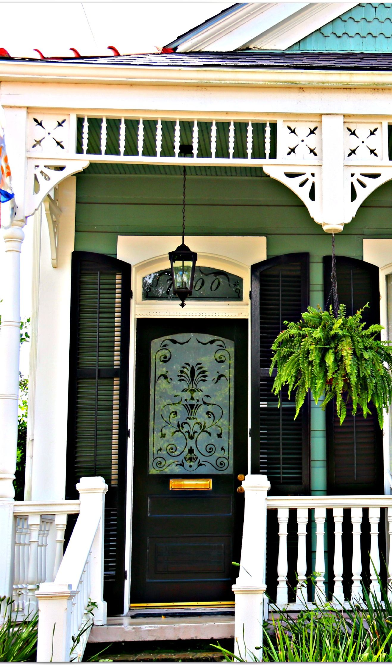 New Orleans Side Hall Victorian Cottage Paint Colors House