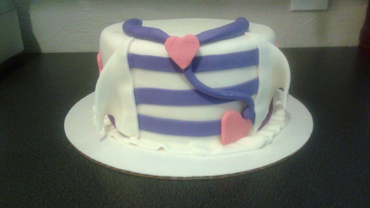 Amazing Doc Mcstuffin Birthday Cake Trinas Custom Cakes Trina Lafuente Birthday Cards Printable Inklcafe Filternl
