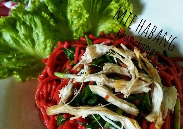 Resep 2 Mie Habang Mie Merah Khas Banjar Selasabisa Oleh Marleta Alwi Resep Resep Mie Makanan