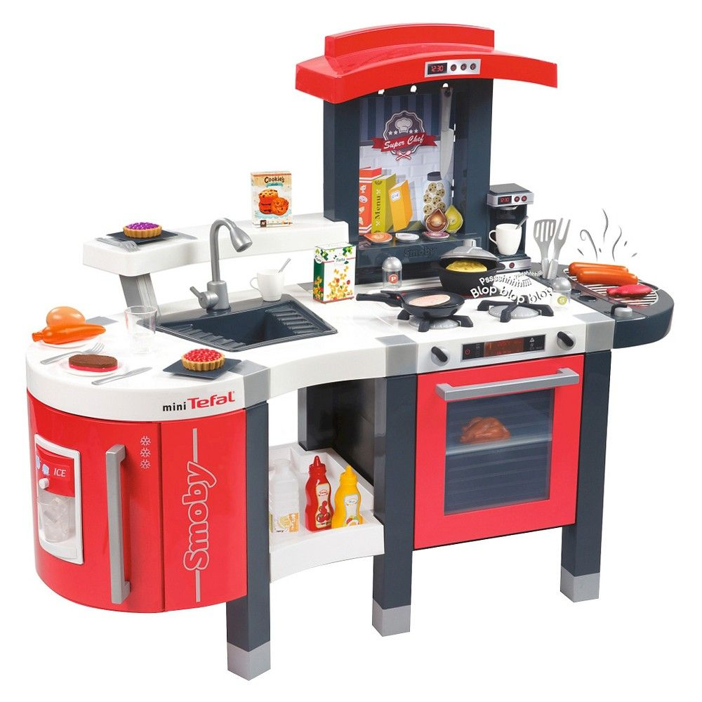 Smoby Tefal Super Chef Deluxe Play Kitchen Products Toy