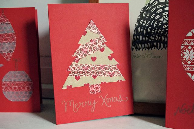 Diy christmas cards idea house design pinterest washi diy diy christmas cards idea solutioingenieria Gallery