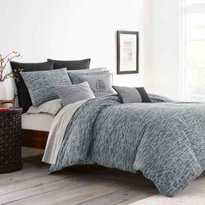 Bring Urbane Style To Your Bedroom With The Boceto Duvet Cover Set By Ed Ellen Degeneres Showcasing A Free Comforter Sets Gray Duvet Cover Grey Comforter Sets