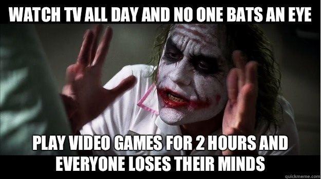TV vs Video Games