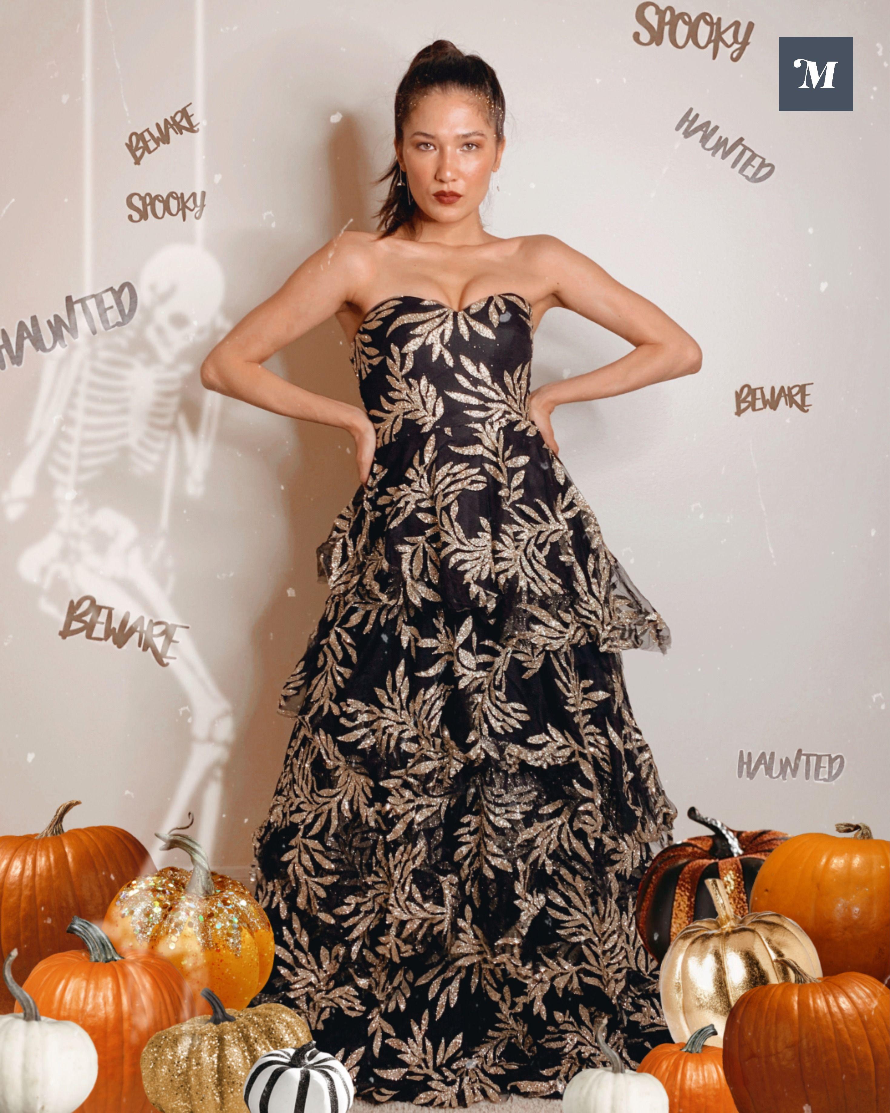 Tatycake In The Imperial Jungle Strapless Maxi Dress Ruffles Fashion Strapless Dress Formal Dresses [ 3673 x 2938 Pixel ]