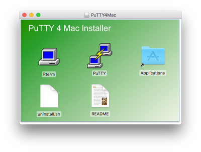 Download putty for mac os