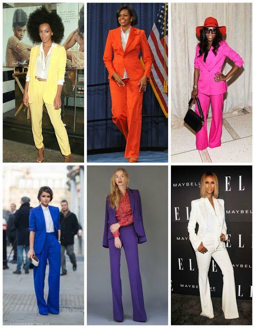 Monochromatic Pant Suits