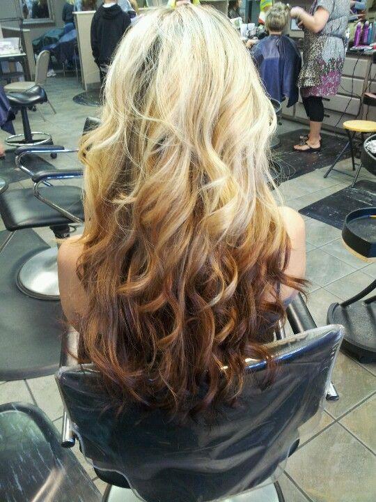 Reverse Ombre Hair Color Ideas Pinterest