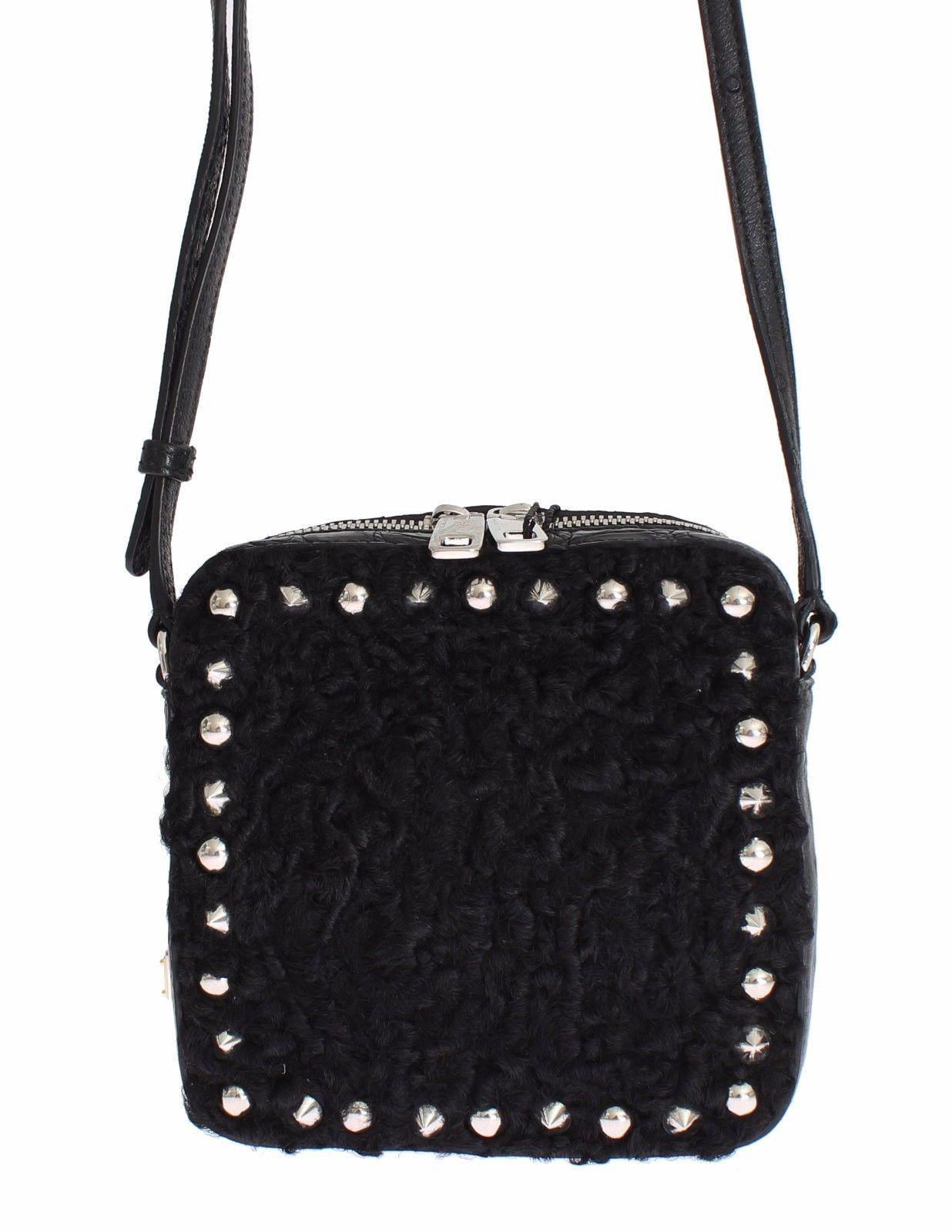 6b1081f2f2c Dolce   Gabbana Dolce   Gabbana Bag Black Caiman Python Ostrich ...