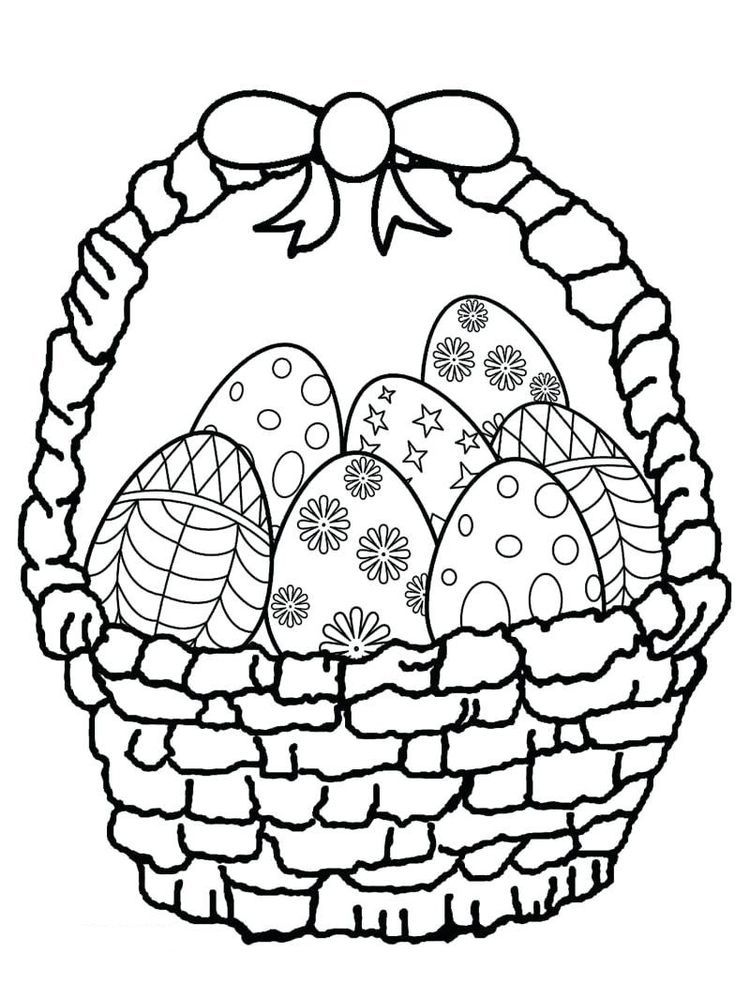 Easter Basket Coloring Book Pages Easter Is A Fun Time For Children Easter Celebratio Easter Coloring Book Easter Coloring Pictures Easter Egg Coloring Pages
